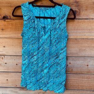 Daisy Fuentes sleeveless blouse